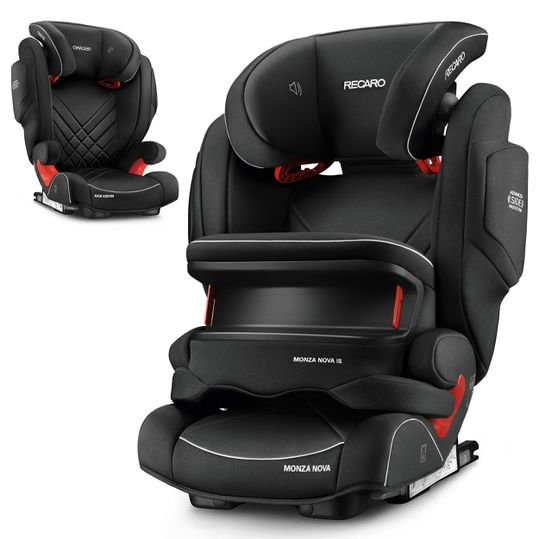Kindersitz Monza Nova IS Seatfix - Core - Performance Black