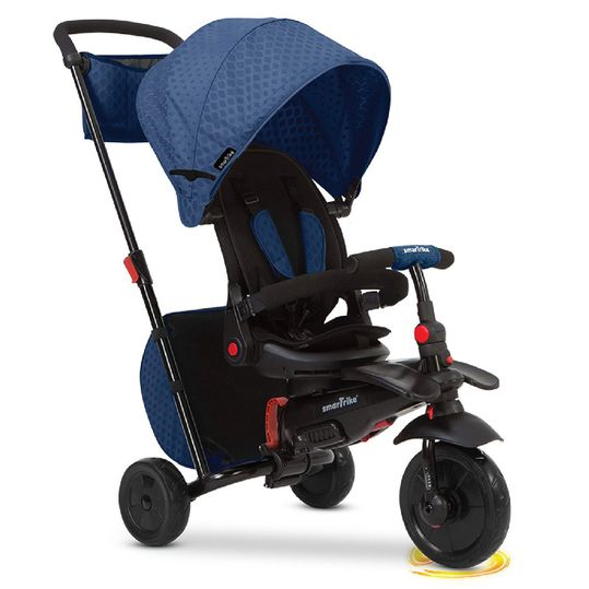 Dreirad smarTfold 700 - 8 in 1 mit Touch Steering - Blue