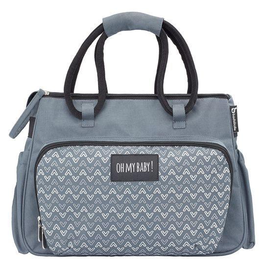 Diaper bag Boho - Grey