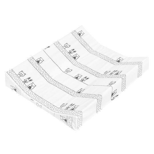 Changing trough Foil 2-Wedge - Grobies - White Black