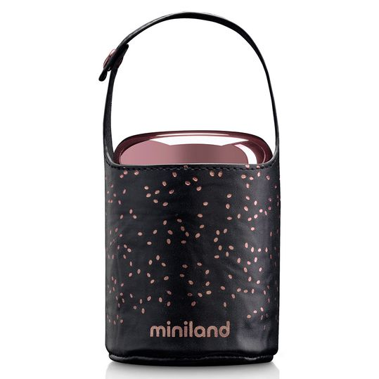 Edelstahl-Isolierbox inkl. Isoliertasche Food Thermos Mini Deluxe 280 ml - Rose