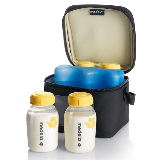 Set cooling bag & 4 bottles