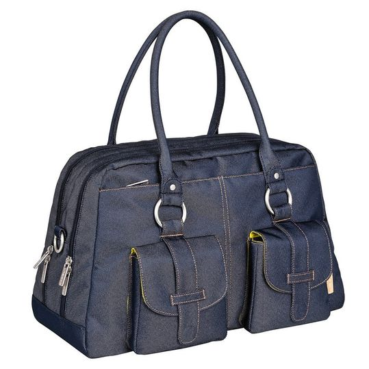Wickeltasche Green Label Metro Bag - Denim Blue