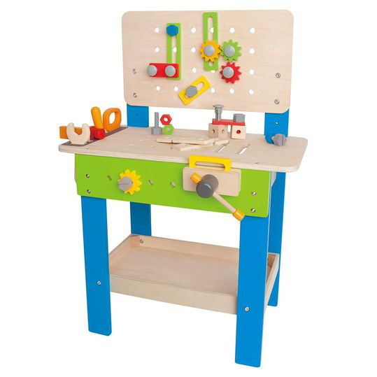Meister workbench with large set of accessories