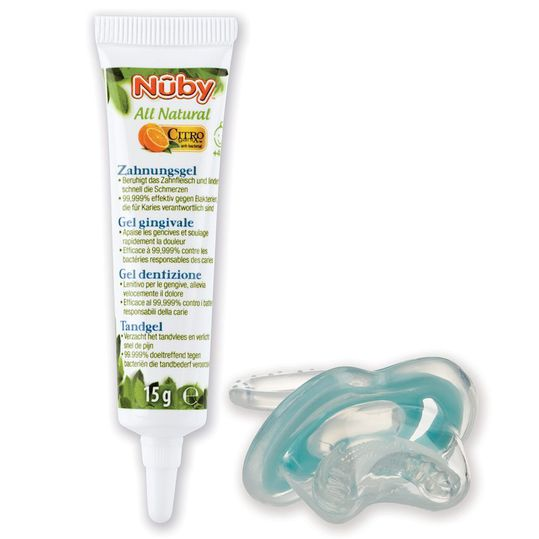 Tooth Gel Citroganix All Natural + Tooth Aid