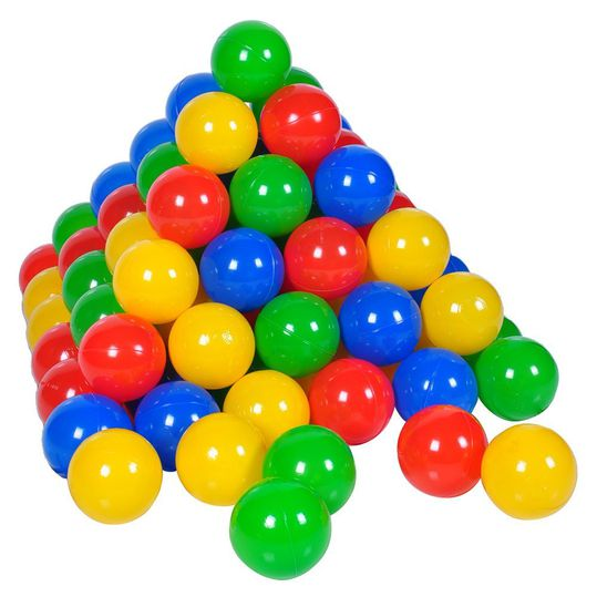 Balls 100er Pack for Ball Bath - Colourful