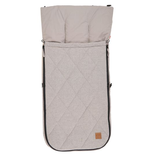 Sommer-Fußsack Nikko - Light Grey Melange