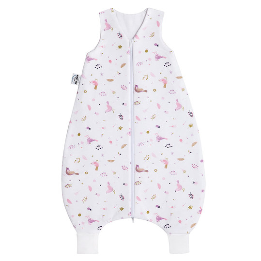 Jumper Jersey - Berries and Birds Pink - Size 92 cm