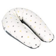 Positioning pillow XL for breastfeeding & relaxing 200 cm - Pop Grey