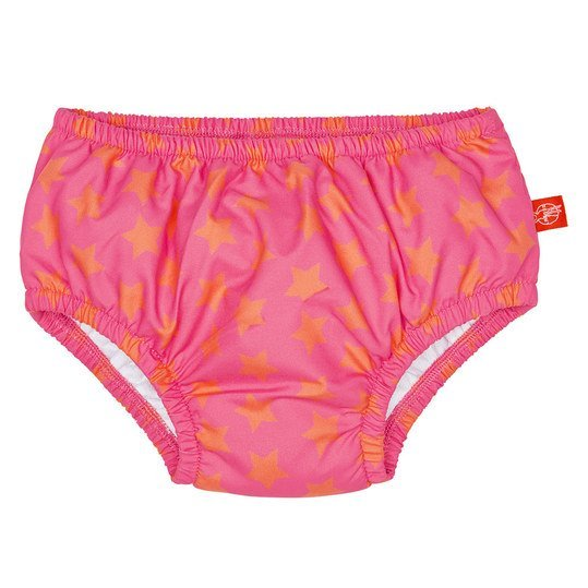 Bade-Windelhose - Peach Stars - Gr. 18 - 24 M