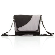 Wickeltasche Fashion - Grey Black