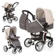 Kinderwagen-Set Malibu XL All in One - Rock