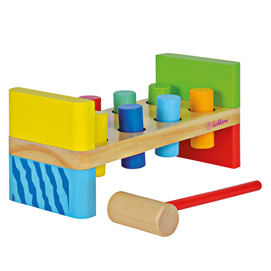 Klopfbank Color 10-tlg.