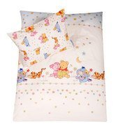 Bedding 100 x 135 cm - Stylished Pooh White