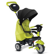 Dreirad Swing DLX - 4 in 1 mit Touch Steering - Green