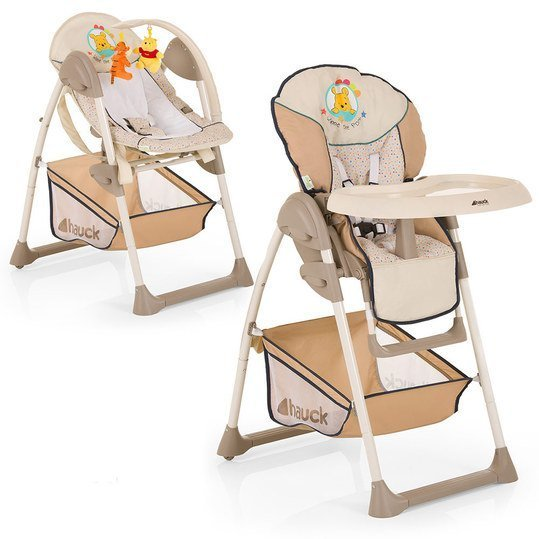 hauck hochstuhl babyliege sit 39 n relax winnie pooh ready to play. Black Bedroom Furniture Sets. Home Design Ideas