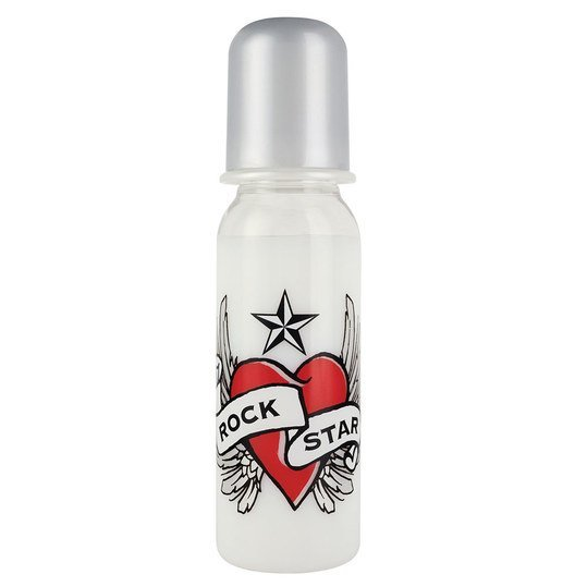 PA-Flasche RSB 250 ml - Silikon Gr. 1 - Heart & Wings
