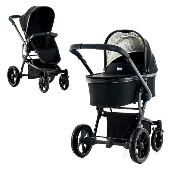 Kombi-Kinderwagen City Line Cool - Black Fishbone