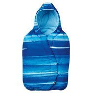 Fußsack für Babyschale Cabriofix / Pebble / Citi / Rock - Watercolor Blue
