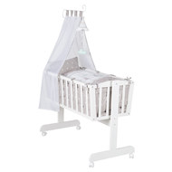 Complete Cradle White - Indibär - Grey