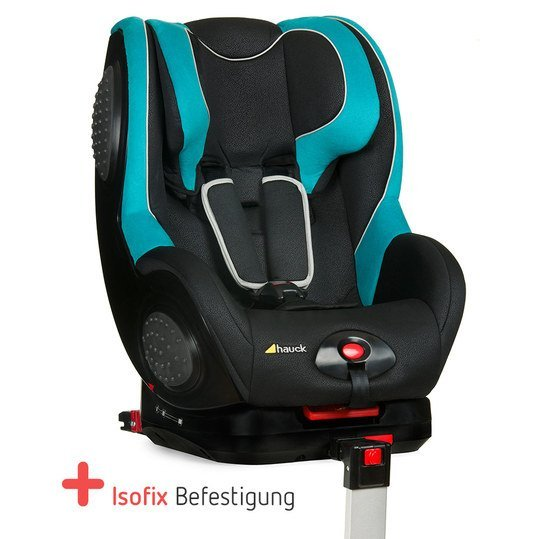 hauck kindersitz guardfix mit isofix basis black aqua. Black Bedroom Furniture Sets. Home Design Ideas