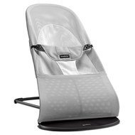 Baby Bouncer Balance Soft Mesh - Silver White