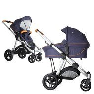 Kombi-Kinderwagen Joel Air - Fishbone Navy