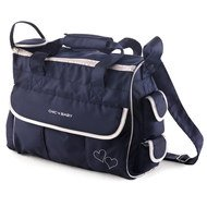 Wickeltasche Luxury - Classic Line Navy