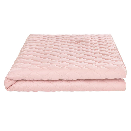 Play-Mat gesteppt 130 x 130 xcm - Blush