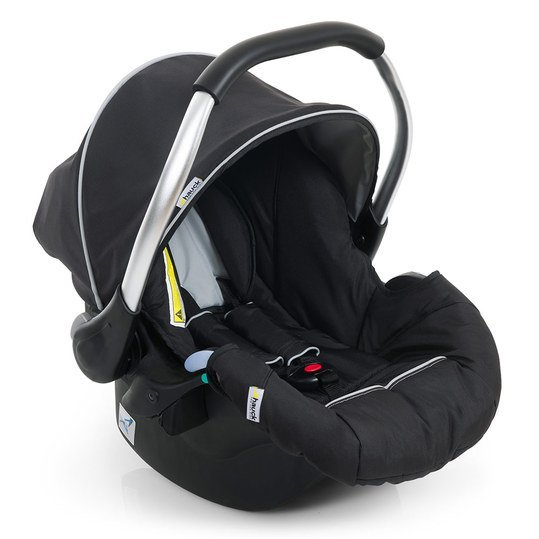 Babyschale Zero Plus Comfort für Duett 2 - inkl. Adapter - Black
