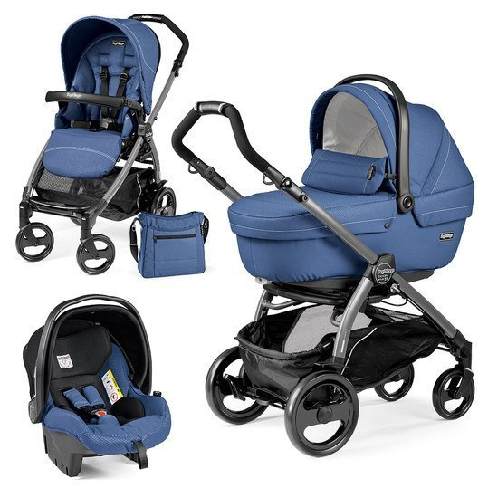 Kinderwagen-Set Book Plus 51 Xl Sportivo Modular Gestell Jet / Anthrazit - Mod Bluette