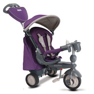 Dreirad Recliner Infinity 5 in 1 mit Touch Steering - Purple