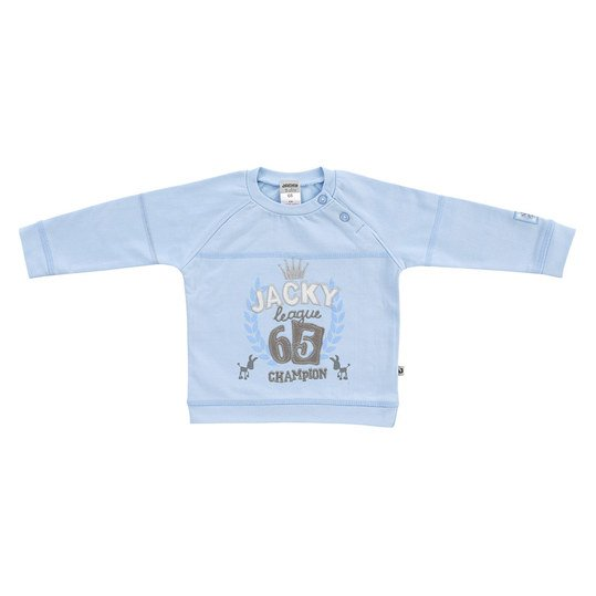 Sweatshirt Little Donkey Gr. 80 - Blau