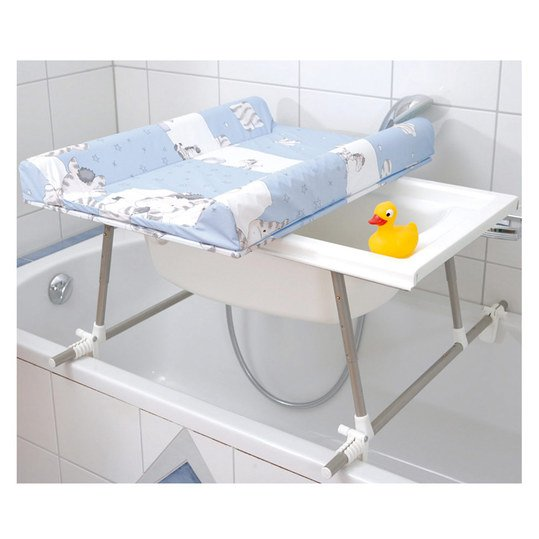 geuther bade wickel kombi aqualight inkl baby badewanne. Black Bedroom Furniture Sets. Home Design Ideas
