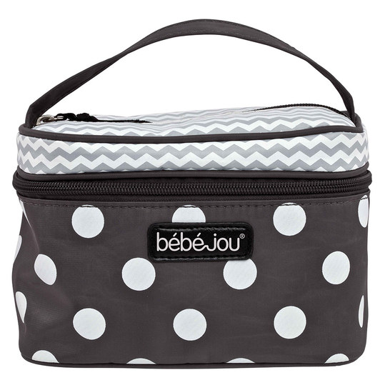 Baby-Beautycase - Grey Dots