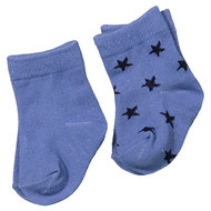 Socken 2er Pack My handsome One - Blau - Gr. 6-12 Monate
