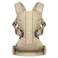 Babytrage One Cotton Mix Ergonomic Wood Edition - Birkenholzbeige