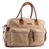 Wickeltasche Vision of Love Canvas - Beige
