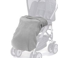 Fleece Kinderwagen-Decke - Grau