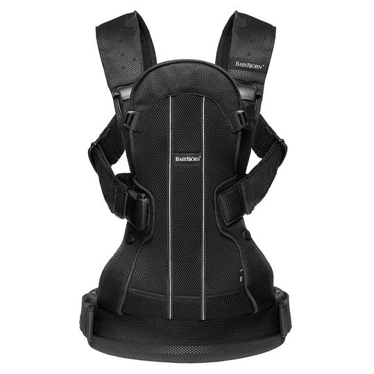 Babytrage We Air Mesh Ergonomic Edition - Schwarz