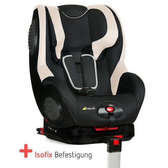 hauck kindersitz guardfix mit isofix basis black beige. Black Bedroom Furniture Sets. Home Design Ideas