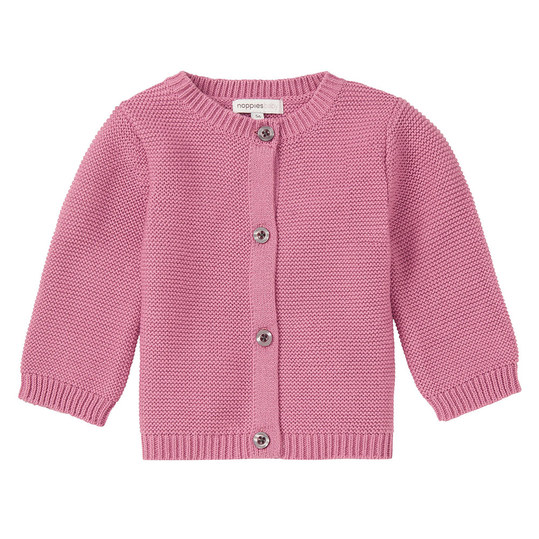 Strickjacke Gamer - Rosa - Gr. 68