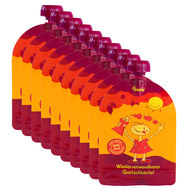 Pack of 10 - squeeze bags - reusable squeeze bags - 100ml