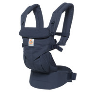 Baby carrier 360° Omni for 4 carrying positions with lordosis support - Navy Mini Dots
