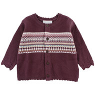 Strickjacke Hush - Bordeaux - Gr. 62
