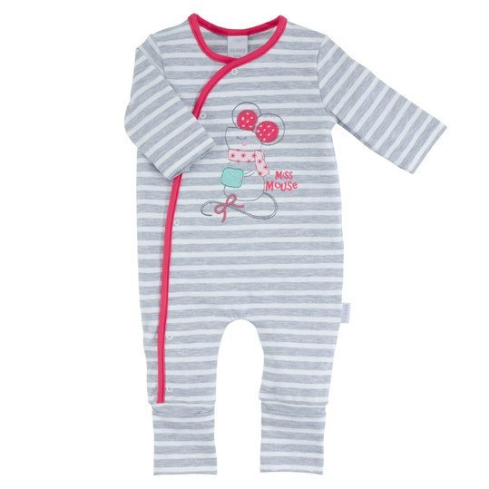 Overall Ringel Happy Friends Ringel Gr. 62 - Grau-Pink