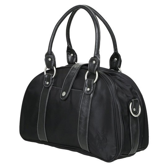 Wickeltasche Glam Shoulder Bag - Solid Black