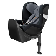 Reborder-Kindersitz Sirona M2 i-Size inkl. Base - Pepper Black Dark Grey