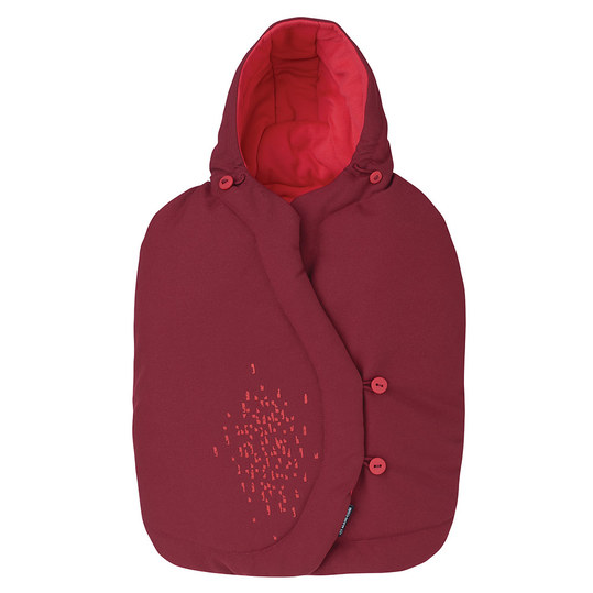 Fußsack für Babyschale Cabriofix / Pebble / Citi / Rock - Vivid Red