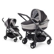 Kombi-Kinderwagen Duo Love Motion - Black Night